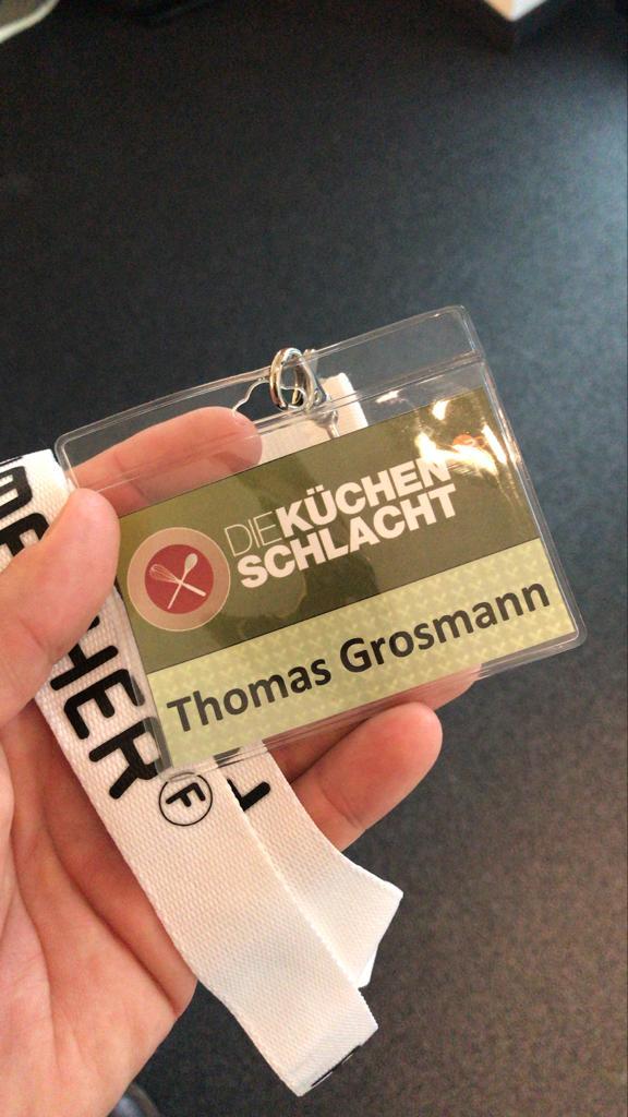 Thom bei der Küchenschlacht im ZDF