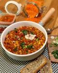 Linsen Chili sin Carne