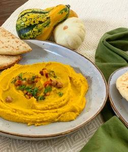 Kürbis Hummus
